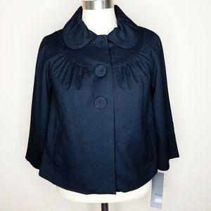 Mossimo | NWT Black Peter Pan Collar Blazer